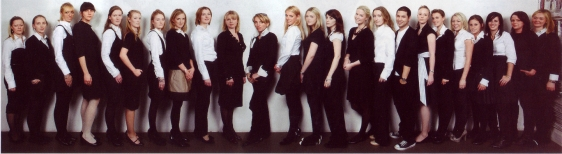 The staff at London PR agency, Luchford APM