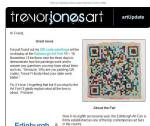 QR Code Art by Trevor Jones